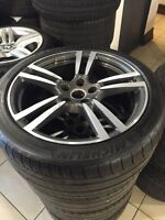 Porsche Cayenne turbo wheels tires and tpms