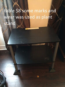 two tables, $10 for set