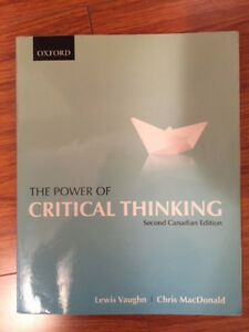 The Power of Critical Thinking (Second Canadian Edition)