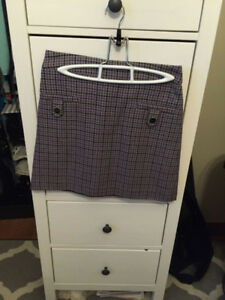 Women's XS Plaid Skirt