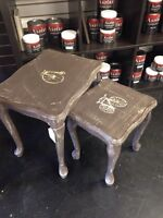 Small nesting tables