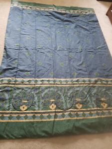 Twin Comforter blue