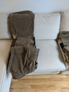 Kivik couch covers for sale - great condition