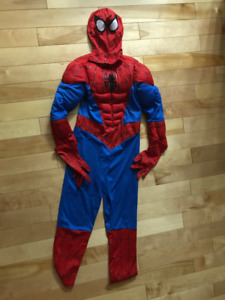 Spiderman Boys Costume  (Medium - Size 7/8)