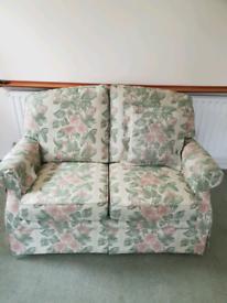 2 seater sofa + armchair + chairs x2