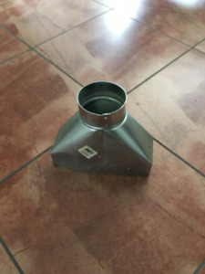 Universal Register Boot Duct 3-1/4 x 10 x 4