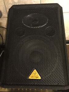 150 Watt full-range Behringer, Eurolive VS1220F, floor monitor