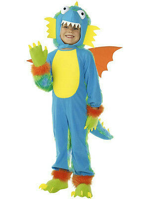 Smiffy's Flying Crump Child Monster Dragon Costume with Wings Size Small - Dragon Wing Kostüm