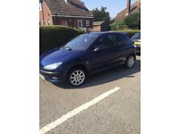 Peugeot 206 LX 1.4 injection