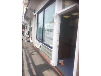 Shop & basement to Let