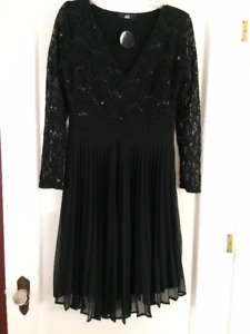 British Dress by Oli UK. Size L Black