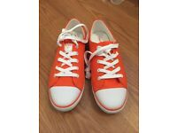 Calvin Klein Jeans canvas shoes size uk 6 Brand New, Never worn!