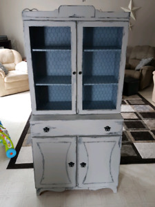 Redone antique cabinet