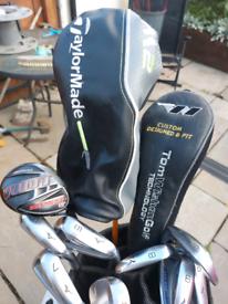 Full set of golf clubs Mizuno, Taylormade