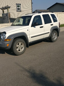 2005 Jeep Liberty SUV Mercedes diesel