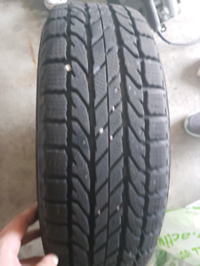 Set of 4 winter tires with corolla rims