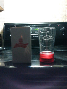 Budwiser Goal Light Glass