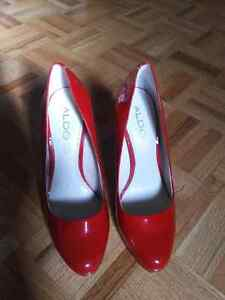 Aldo red shoes. Size 7 1/2.