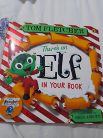 There's a Elf in your book.