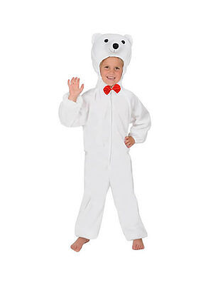 NEU EISBÄR  KOSTÜM FÜR FASCHING KARNEVAL 110/116 - Eisbär Kostüme Kinder