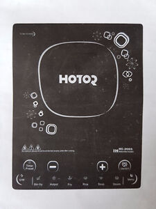 Hotor Portable Slim Induction Single Element Cooktop