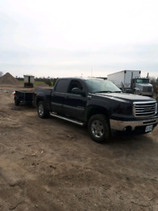 2010 gmc sierra z71 with trailer package and ALL TERRAIN