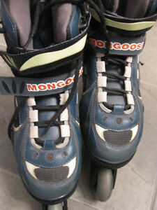 Size 9 Mongoose Roller Blades