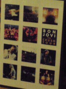 "bon jovi ""the crush tour"" mint cond dvd"