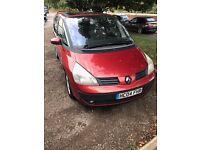 Renault grand Espace 2004 7 seat