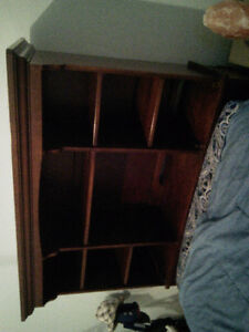 Complete bookcase storage bed twin size