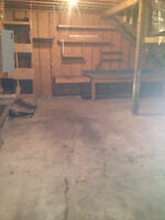 Large Double Garage in Stayner for rent