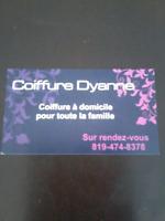 Coiffure à domicile dans la région du centre du Québec Drummondv