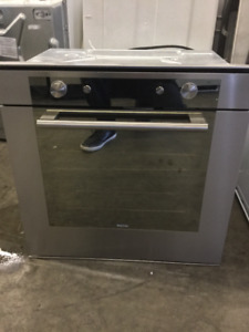 "24"" Apartment Size Stainless Steel Wall Oven"