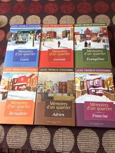 Livre Mémoire d'un quartier 6 tomes