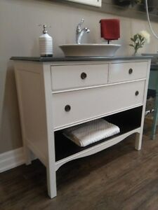 BATHROOM VINTAGE VANITIES (2 TO CHOOSE FROM)