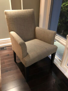 Mitchell Gold and Bob Williams Kiki Arm Chair Dining Chair X4