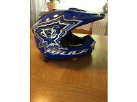 Wülf Kids Motocross helmets