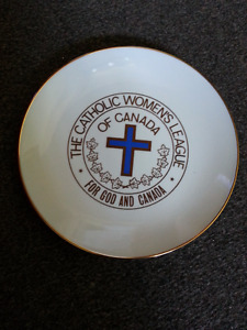 Catholic Women's League plate
