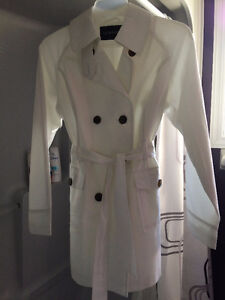 White Spring or Fall Coat