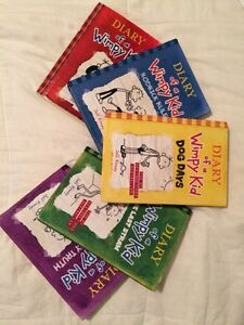 Diary of a Wimpy Kid Set 1-5 Kitchener / Waterloo Kitchener Area image 2