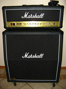 Marshall JCM 2000 DSL 50 head and 1960 angled cabinet