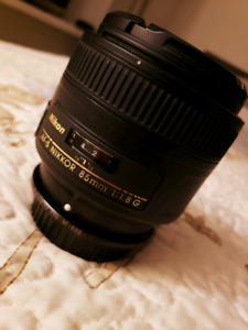 NIKKOR 85MM F1.8 Mint Condition