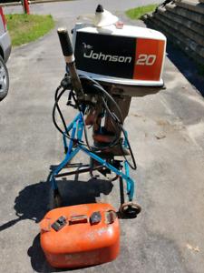 Johnson 20hp hors-bord
