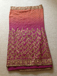 Never-worn Saree/sari with blouse