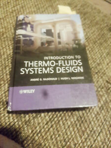 Introduction to thermo-fluids system design andre g. Mcdonald