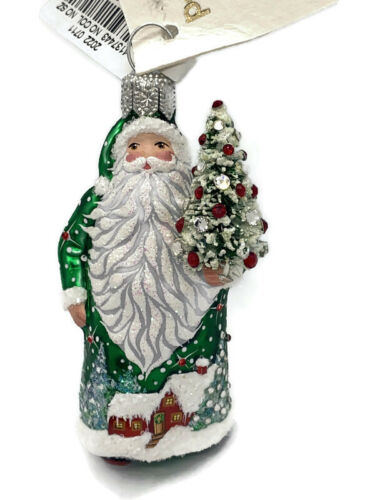 2021 SOLD OUT NEIMAN MARCUS GREEN PETIT BOIS PATRICIA BREEN ORNAMENT