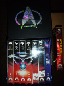 Various VHS Tapes for sale - Star Wars, Jackie Chan, Star Trek