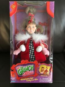 "Cindy Lou Who doll from ""The Grinch who Stole Christmas"""