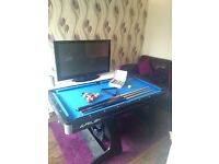 5ft folding Riley pool table