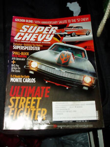 Super Chevy and Chevy High Performance magazines